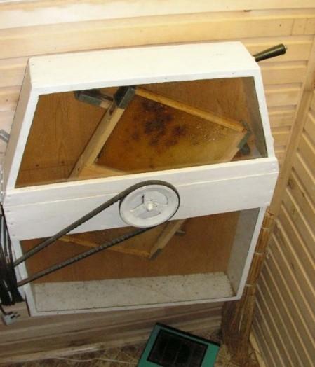 Fournitures d'abeilles à miel - fabrication d'un extracteur de miel (5)
