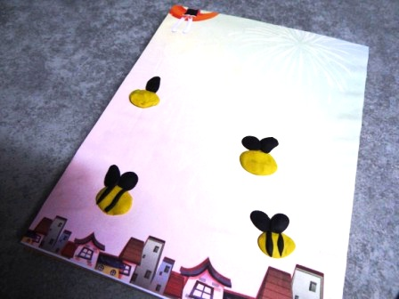 Bee arts and crafts - bee crafts for preschool (4)