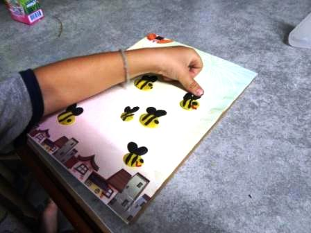 Bee arts and crafts - bee crafts for preschool (6)