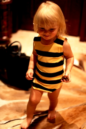DIY bee costume - bee costume homemade (8)