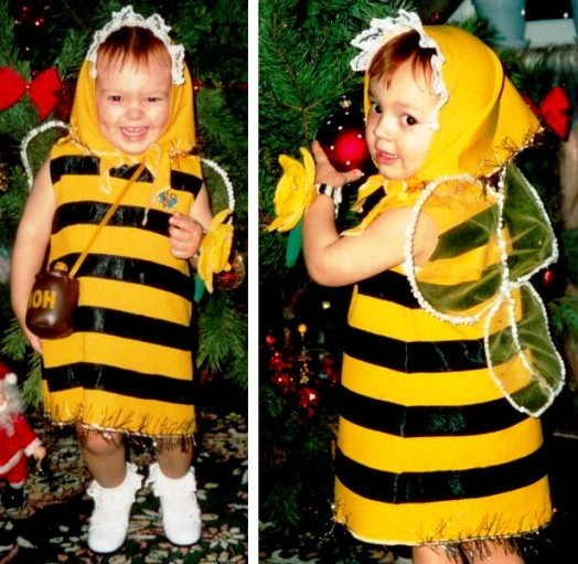 Queen bee costume - bee costume ideas (4)