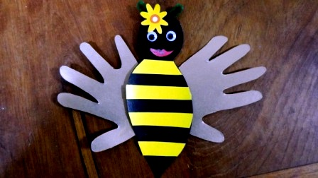 Honey bee crafts - bee crafts ideas (5)