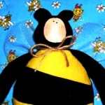 Honey bee craft for kids - doll